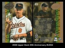 2008 Upper Deck 20th Anniversary #UD54