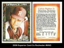 2009 Superior Card Co Rochester #NNO
