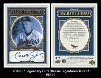 2009 SP Legendary Cuts Classic Signatures #CSCR