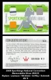 2009 Sportkings National Convention Memorabilia Silver #SK22