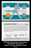 2009 Sportkings National Convention Memorabilia Silver #SK41