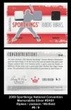 2009 Sportkings National Convention Memorabilia Silver #SK61