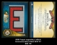 2009 Topps Legendary Letters Commemorative Patch #CR E