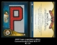 2009 Topps Legendary Letters Commemorative Patch #CR P
