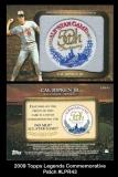 2009 Topps Legends Commemorative Patch #LPR43
