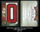 2009 Topps Legends of the Game Nickname Letter Patch #CR O