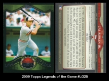 2009 Topps Legends of the Game #LG25