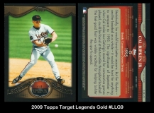 2009 Topps Target Legends Gold #LLG9