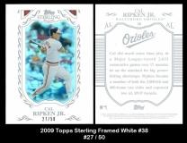 2009 Topps Sterling Framed White #38