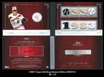 2009 Topps Sterling Season Relics #SSR14