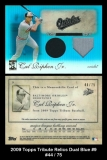 2009 Topps Tribute Relics Dual Blue #9