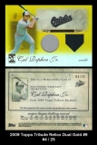 2009 Topps Tribute Relics Dual Gold #9