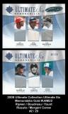 2009 Ultimate Collection Ultimate Six Memorabilia Gold #U6M22