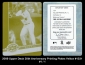 2009 Upper Deck 20th Anniversary Printing Plates Yellow #1331
