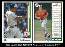 2009 Upper Deck 1989 20th Anniversary Buybacks #467