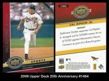 2009 Upper Deck 20th Anniversary #1464