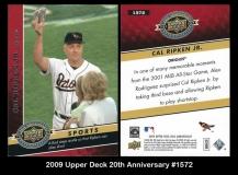 2009 Upper Deck 20th Anniversary #1572