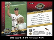2009 Upper Deck 20th Anniversary #1575