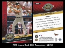 2009 Upper Deck 20th Anniversary #2295