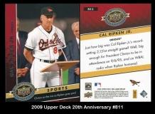 2009 Upper Deck 20th Anniversary #811