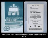 2009-Upper-Deck-20th-Anniversary-Printing-Plates-Cyan-806