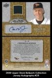 2009 Upper Deck Ballpark Collection Jersey Autographs #CR
