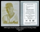 2009 Upper Deck Goodwin Champions Printing Plates Yellow #101