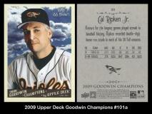 2009 Upper Deck Goodwin Champions #101a