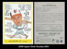2009 Upper Deck Goudey #261