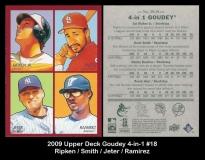 2009 Upper Deck Goudey 4-in-1 #18