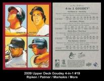 2009 Upper Deck Goudey 4-in-1 #19