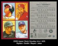 2009 Upper Deck Goudey 4-in-1 #25