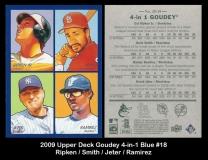 2009 Upper Deck Goudey 4-in-1 Blue #18