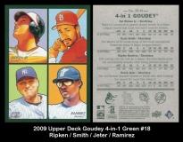 2009 Upper Deck Goudey 4-in-1 Green #18