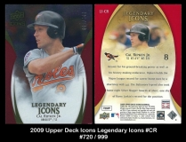 2009 Upper Deck Icons Legendary Icons #CR