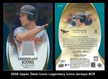 2009 Upper Deck Icons Legendary Icons Jerseys #CR