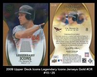 2009 Upper Deck Icons Legendary Icons Jerseys Gold #CR