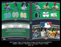 2010 Topps Triple Threads Relic Combos Double Emerald #RDC13
