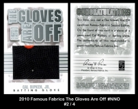 2010 Famous Fabrics The Gloves Are Off #NNO