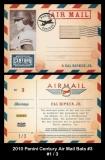 2010 Panini Century Air Mail Bats #3