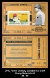 2010 Panini Century Baseball Six Cent Stamp Materials #5