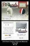 2010 Panini Century Postcards Materials Prime #8