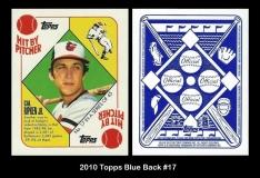 2010 Topps Blue Back #17