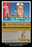 2010 Topps Heritage 1960 National Convention VIP #575