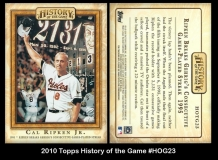 2010 Topps History of the Game #HOG23