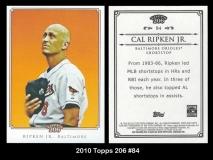 2010 Topps 206 #84