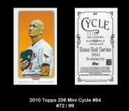 2010 Topps 206 Mini Cycle #84