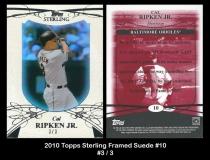 2010 Topps Sterling Famed Suede #10