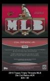 2010 Topps Triple Threads MLB Die Cut Relics #CR