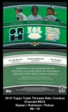 2010 Topps Triple Threads Relic Combos Emerald #RC5